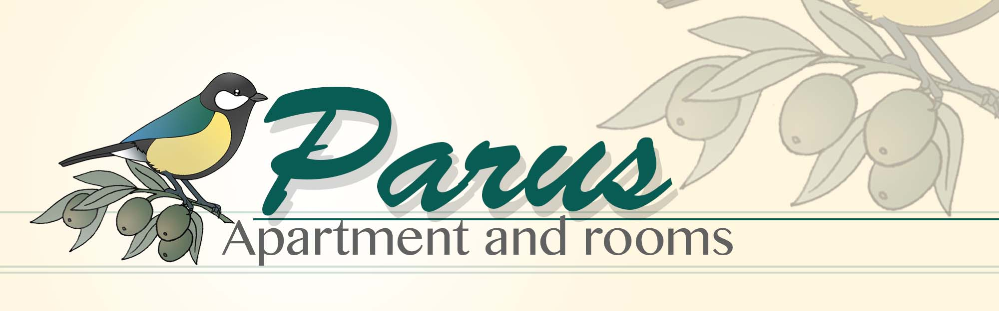 Apartment and rooms Parus