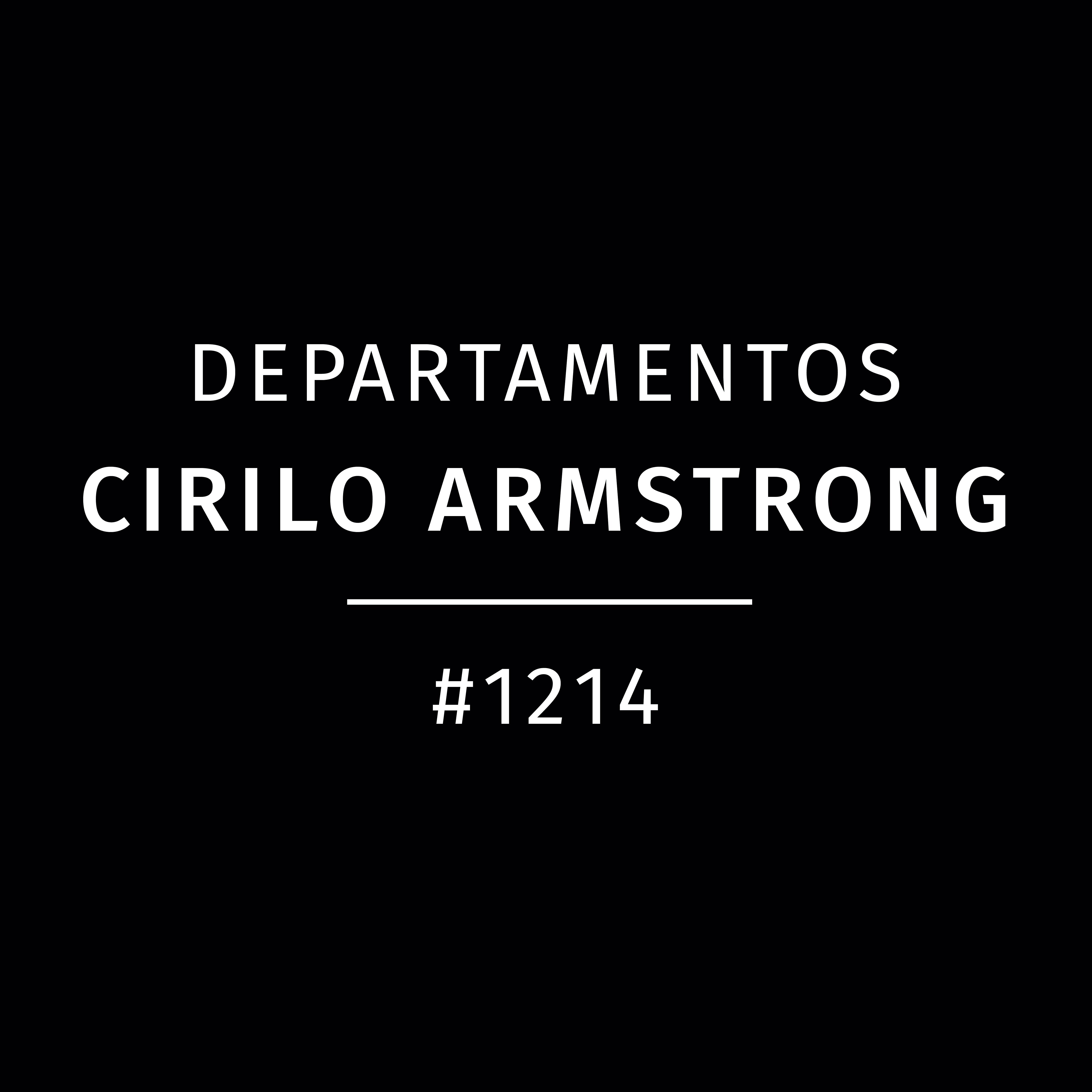 Departamentos Cirilo Armstrong