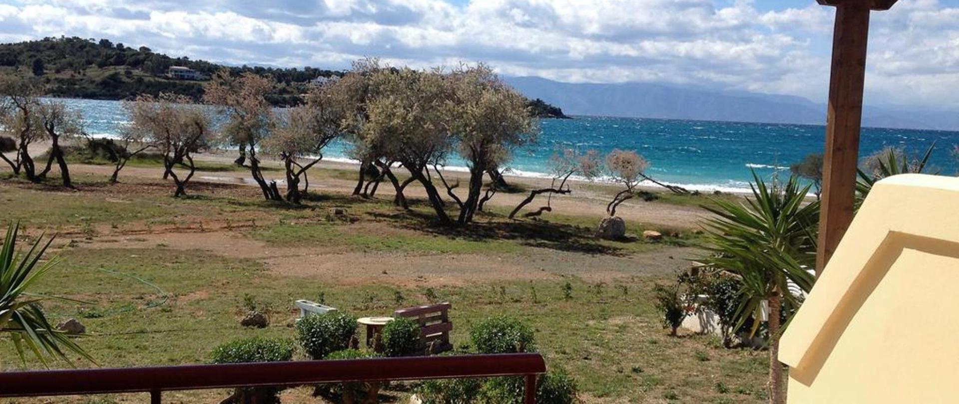 Malindi Rooms garden to the sea