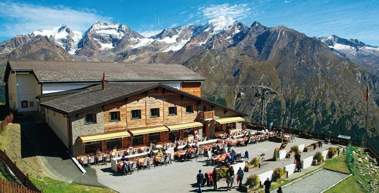 Saas-Fee in summer