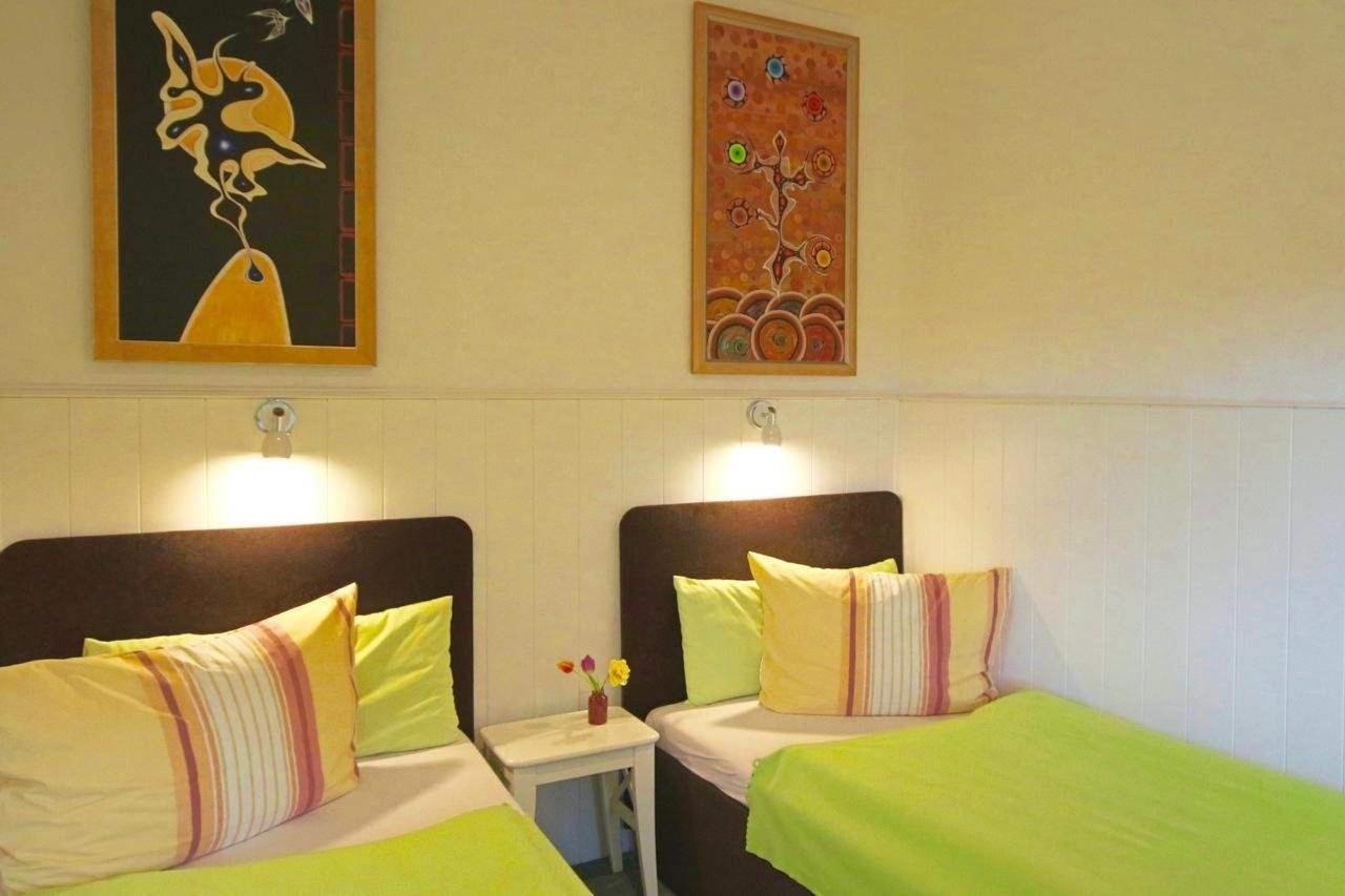Doppel-Zimmer mit 2 Einzel-Betten