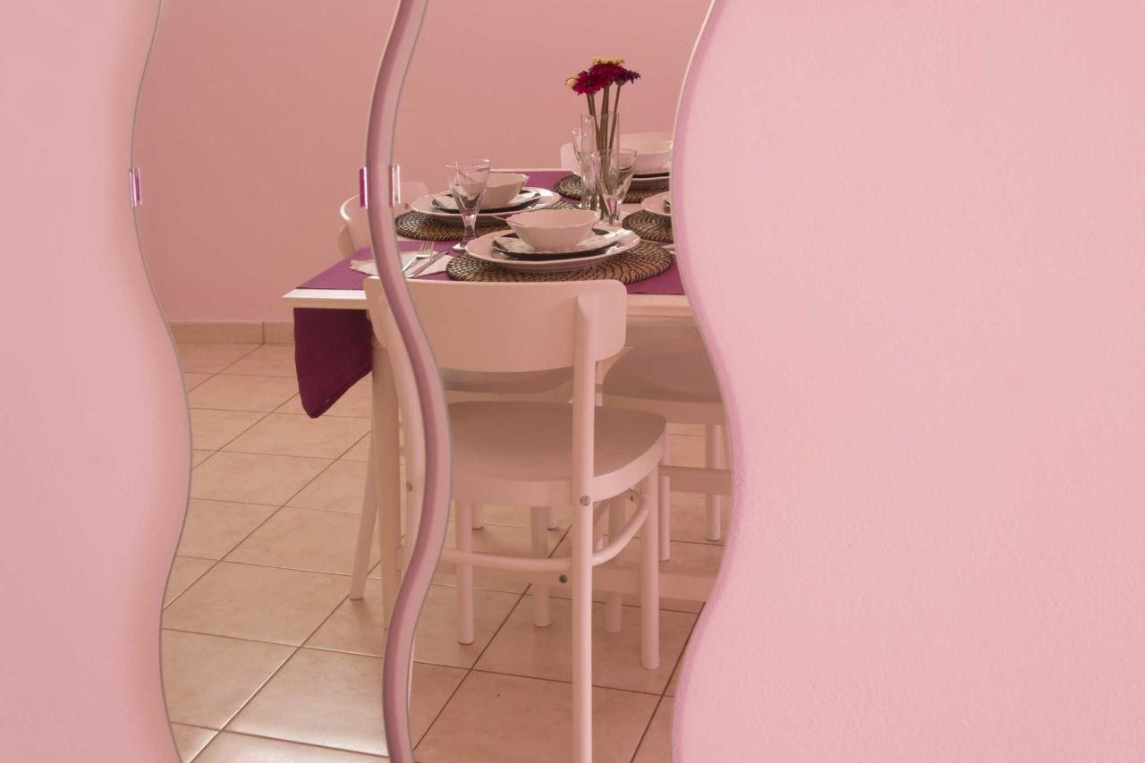 Kitchen Table through Mirror