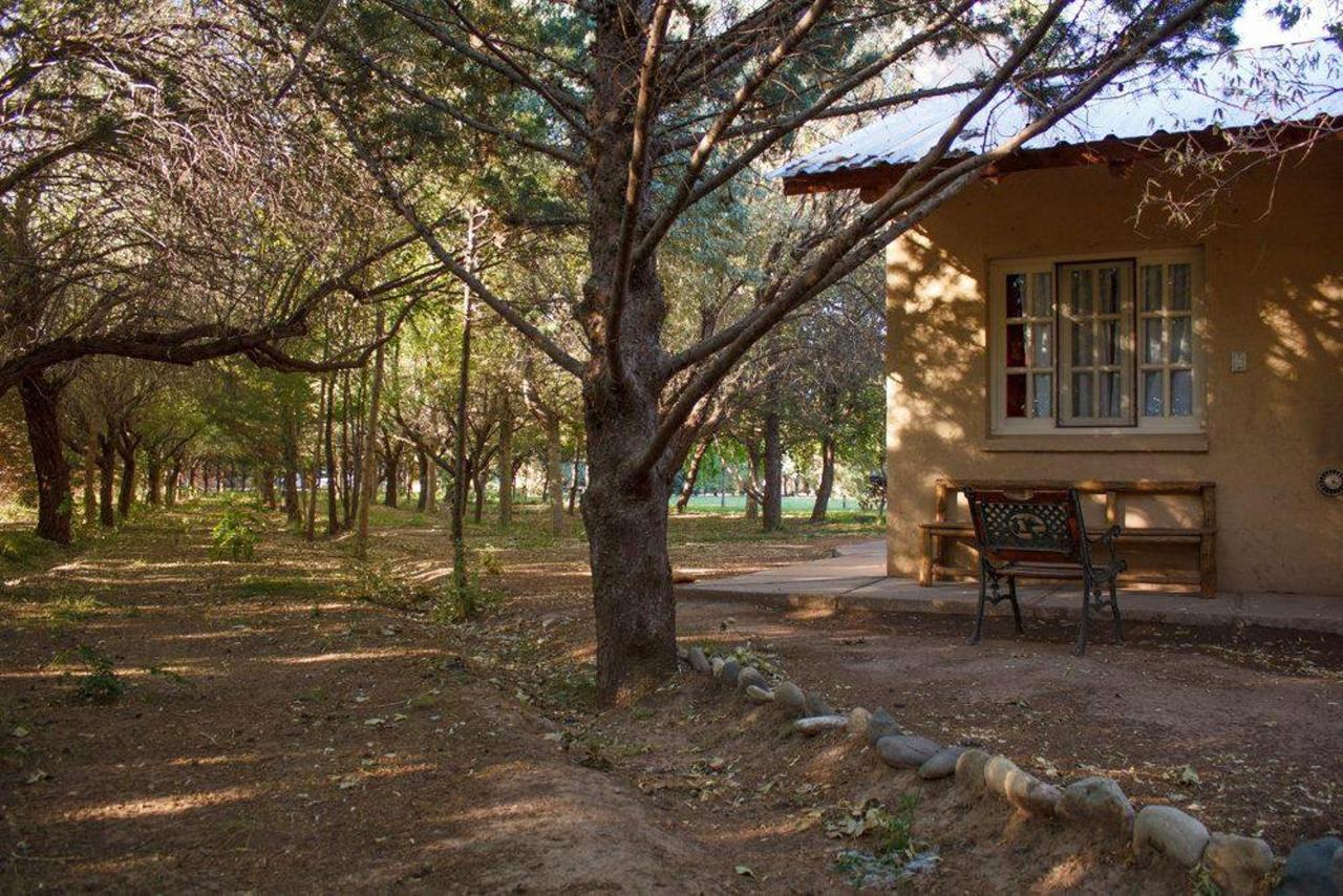 Cabaña con vistas al jardín