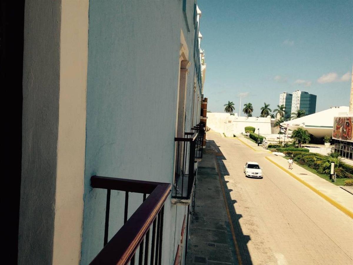 Campeche - Vue de balcony.JPG