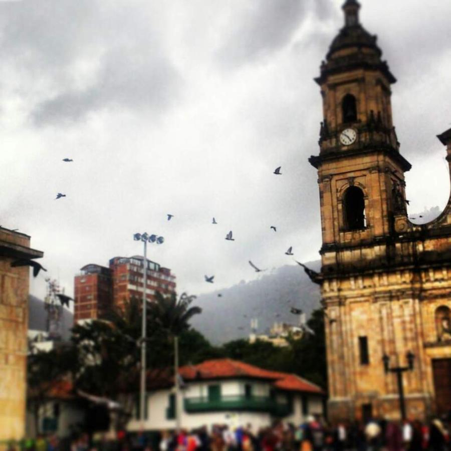 Plaza de Bolivar, Cathedral Primed, Gracias Alejandro Rodriguez.jpg
