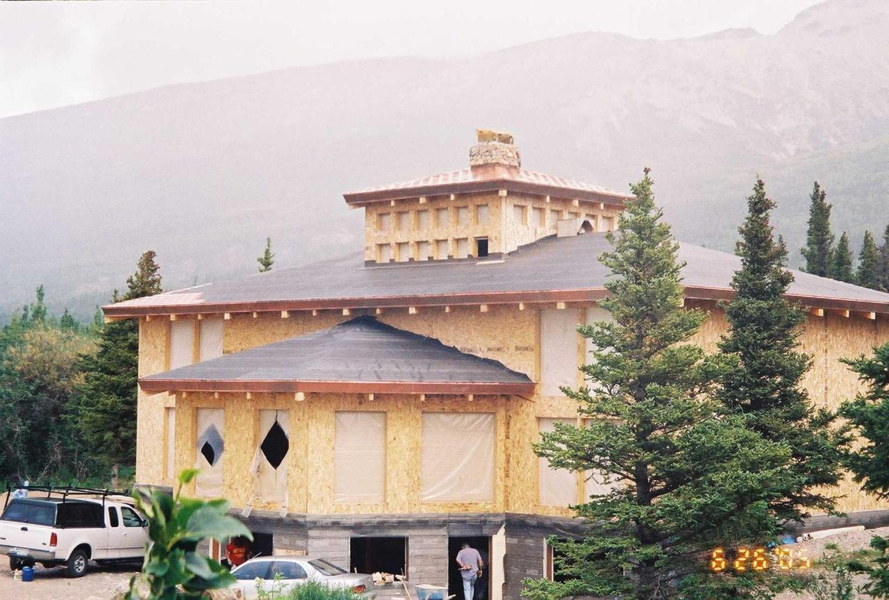 Building of Lodge