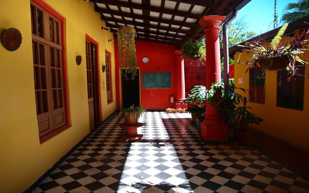 one of the common area of the hostel asuncion.JPG