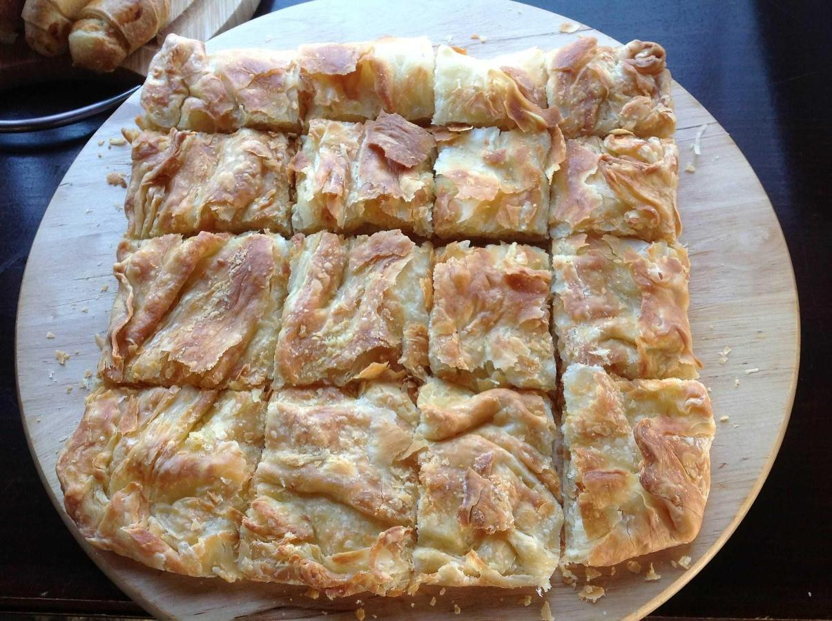 Traditional cheese pie