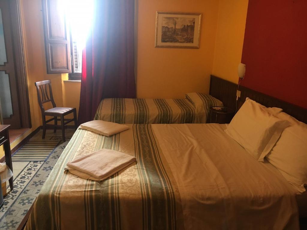 Camera Matrimoniale Doppia Con Letti Singoli.Alla Residenza Domus Minervae Sito Ufficiale Bed Breakfast A