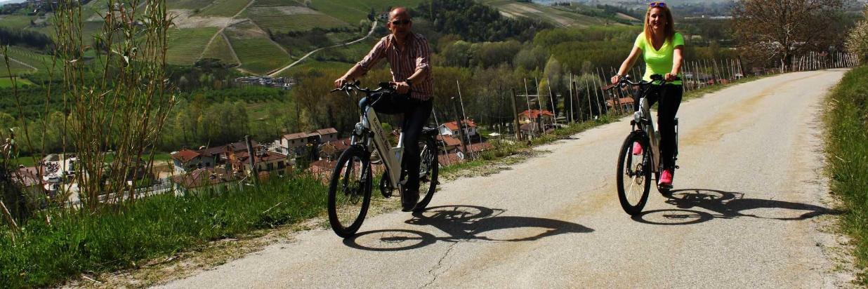 Cicloturismo nelle Langhe