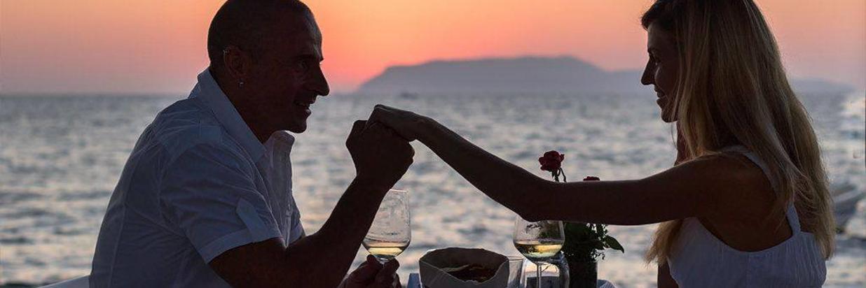 Romantic Dinners at Beach
