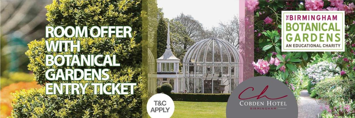 Botanical Gardens Offer