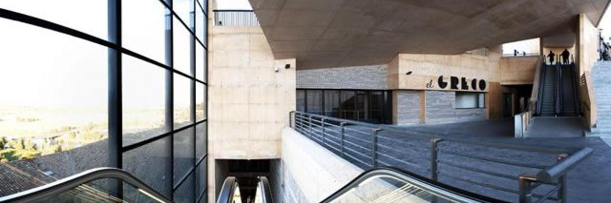 Palacio de Congresos de Toledo y Escaleras Mecanicas