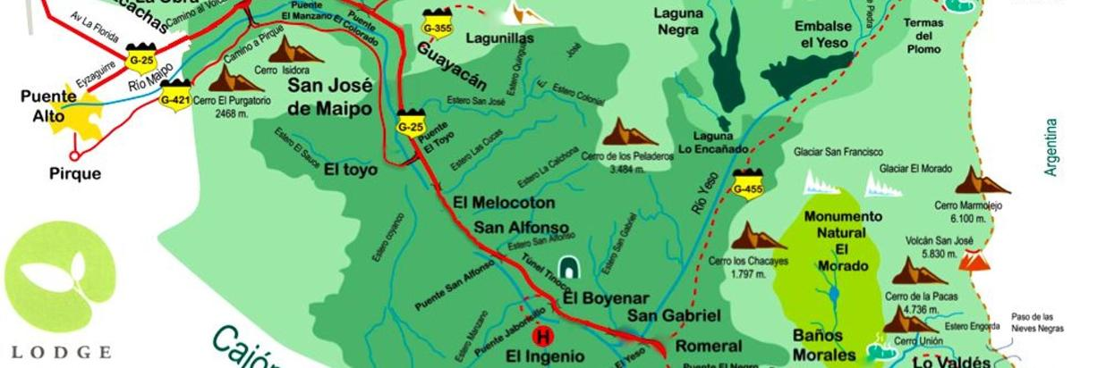 How To Get To Lodge Andino San Jose De Maipo Santiago Chile