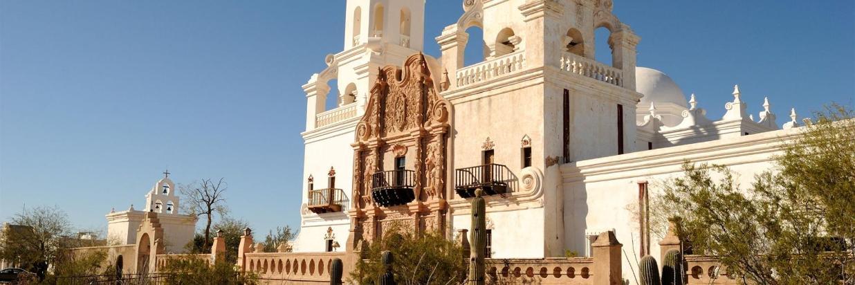 San Xavier Del Bac in Tucson