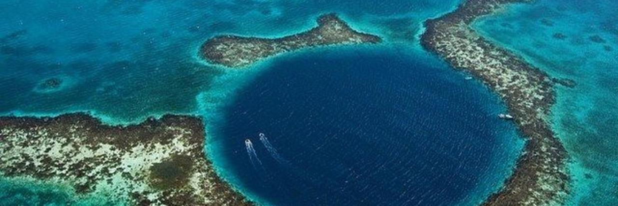 Scuba Diving the Great Blue Hole of Belize