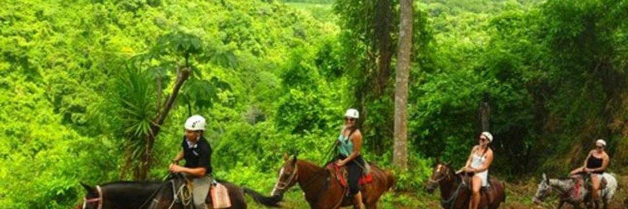 Horseback Riding Waterfall tour