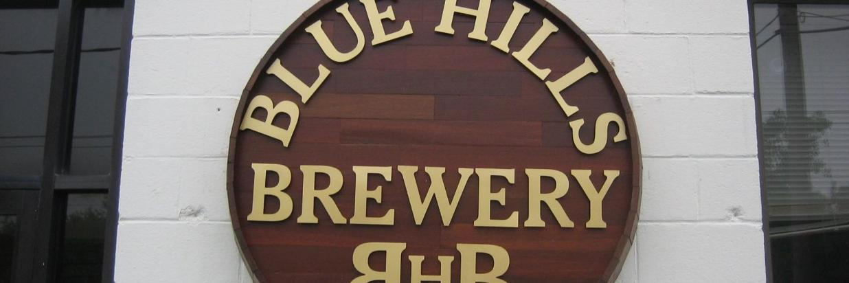 Here's to Blue Hill's Brewery!