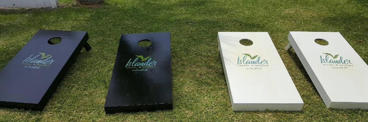 Islander Cornhole boards