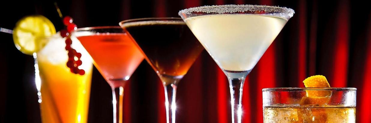 Cocktail Menus click below