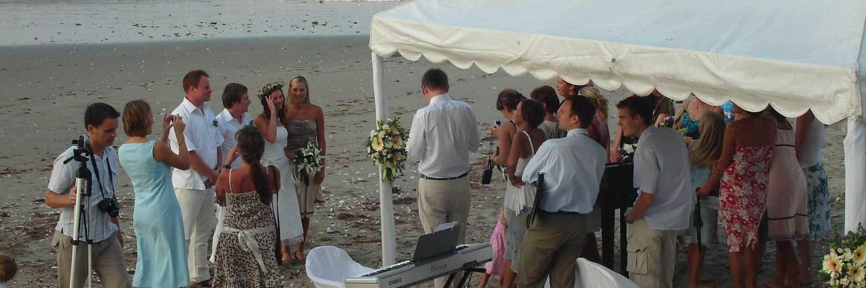 Il tuo matrimonio sulla spiaggia