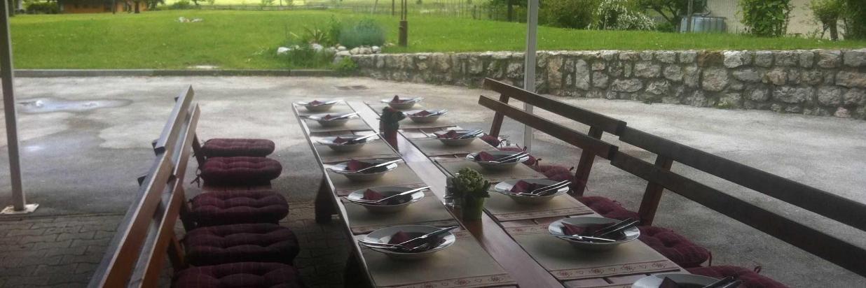 restavracija, terasa