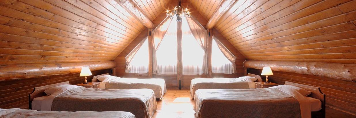 Log House & Cottage