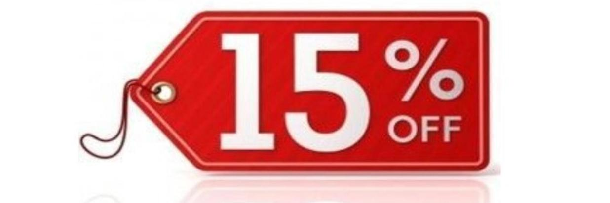 Stay 3 nights, save 15%