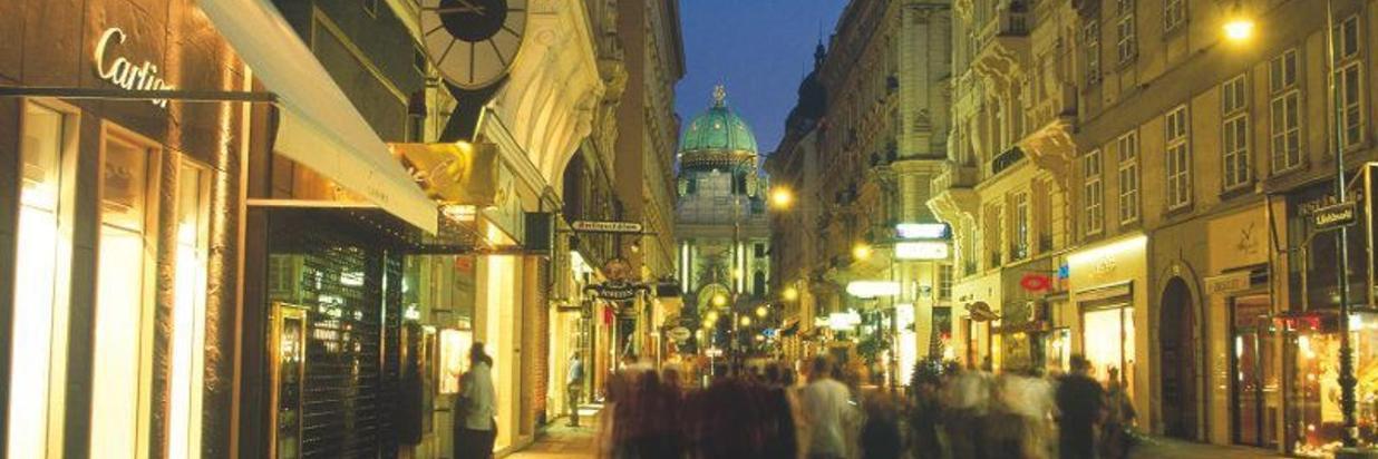Shoppen in Wien