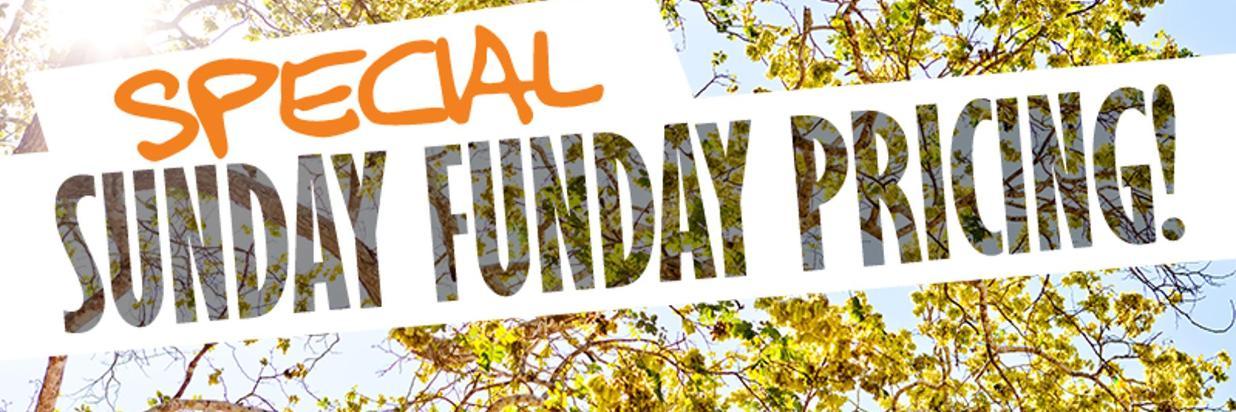 Sunday Funday Promotion!