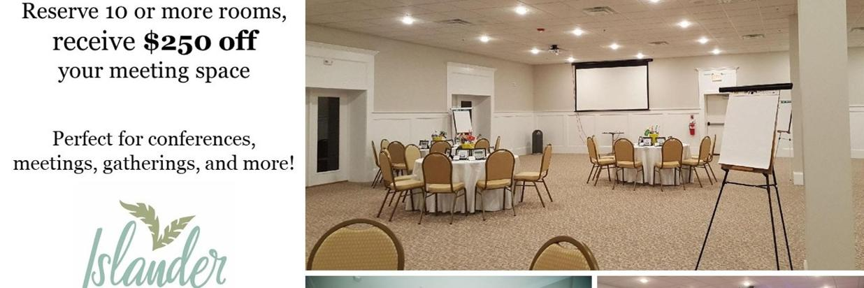 Conference & Meetings Discount