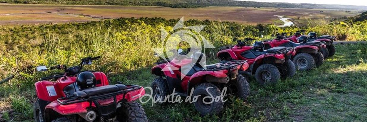 Passeio de Quadriciclo em Porto Seguro, Arraial d'Ajuda e Trancoso na Bahia