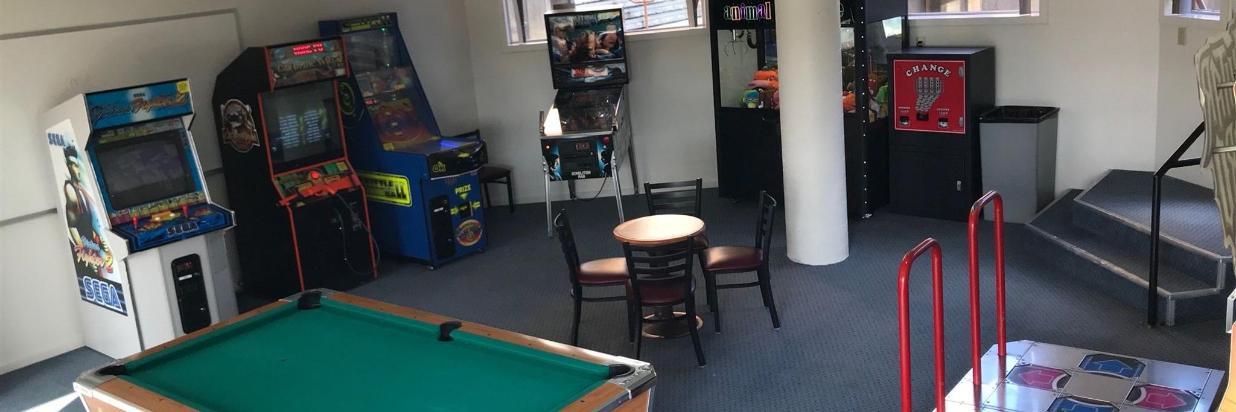 Lodge Poolside Arcade
