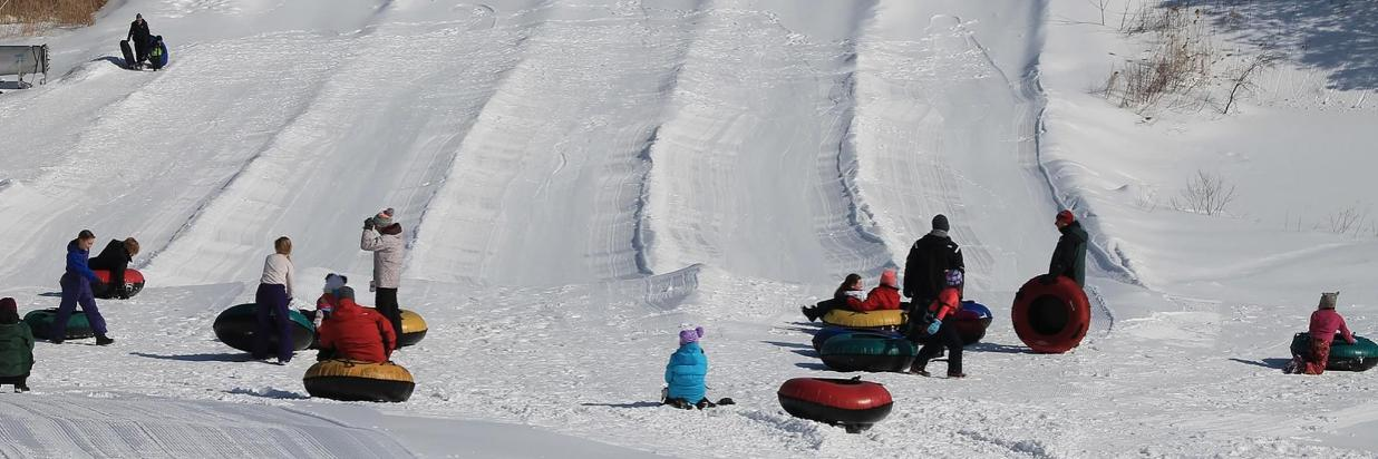 Bousquet Family Snow Tubing & Pizza Package