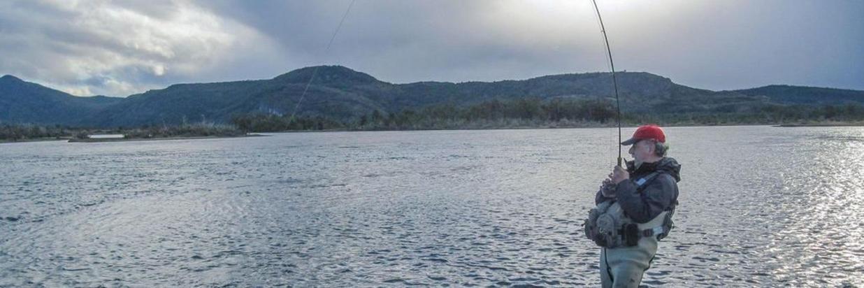 Fishing in Torres del Paine1