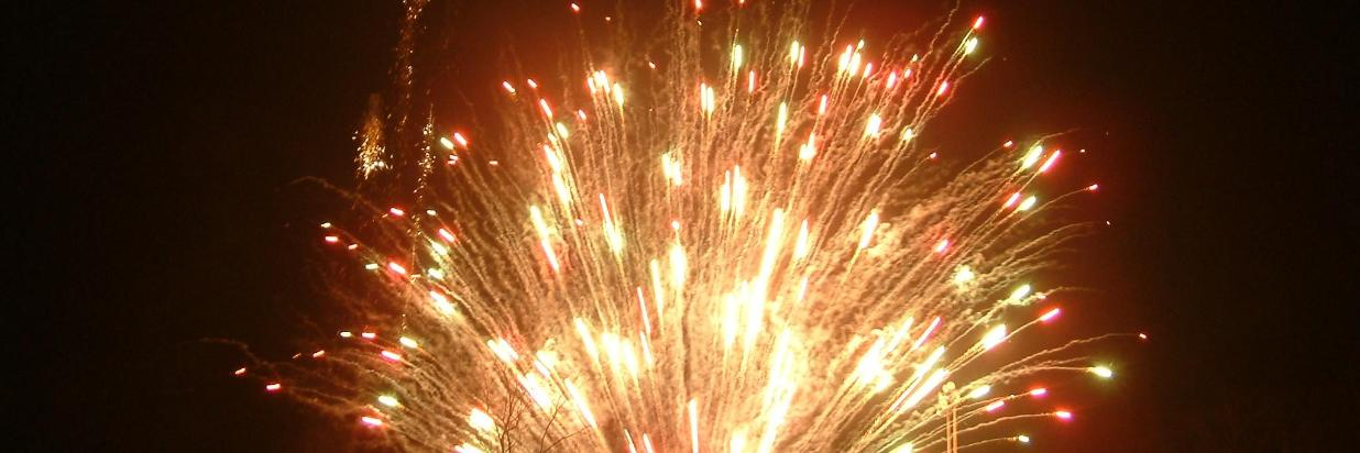 Fireworks & Torchlight Parade on Chinese New Year (2/17)