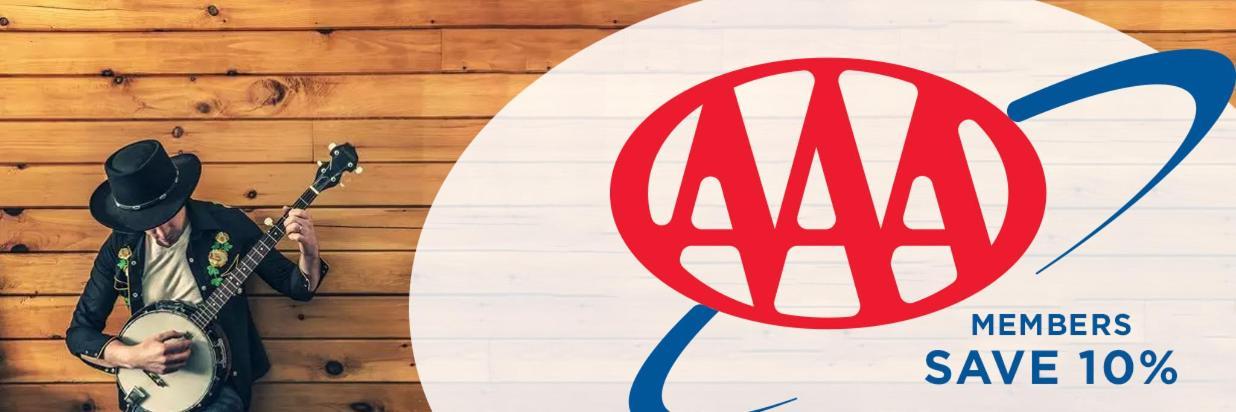 AAA/CAA Members Save 10%