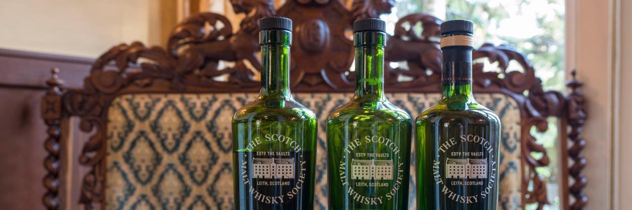 Menu: The Scotch Whisky Society