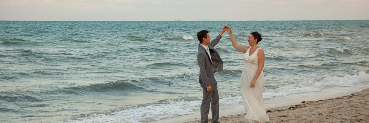 Belize Beach Wedding Ceremony