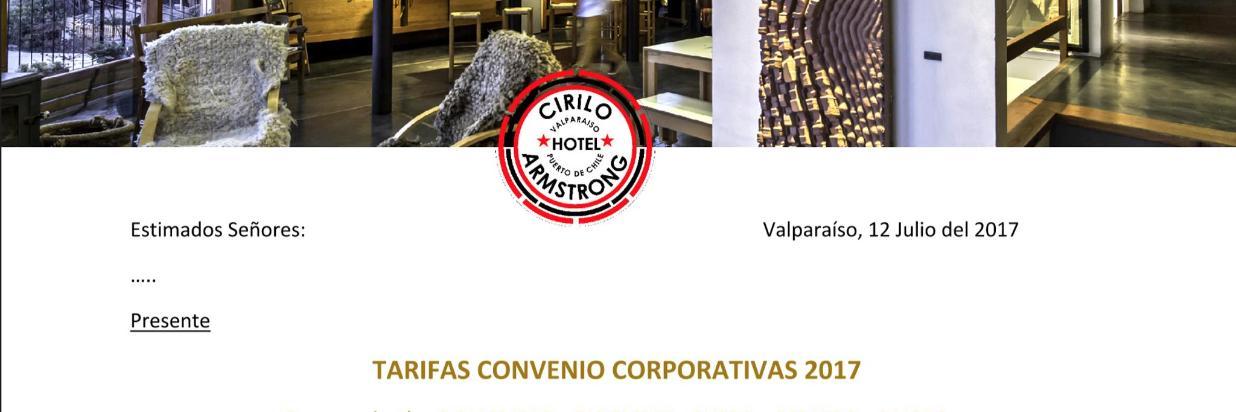 Convenio empresa quinta región
