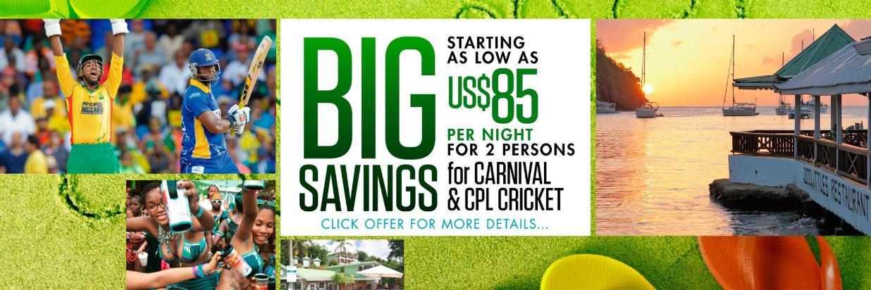 Big Savings for Carnival & CPL Cricket