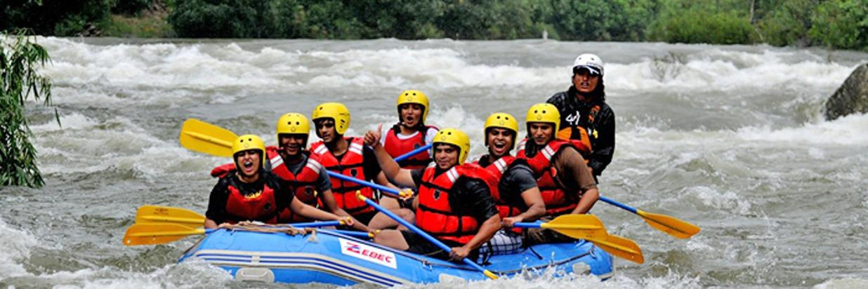 White Water Rafting @ Coorg