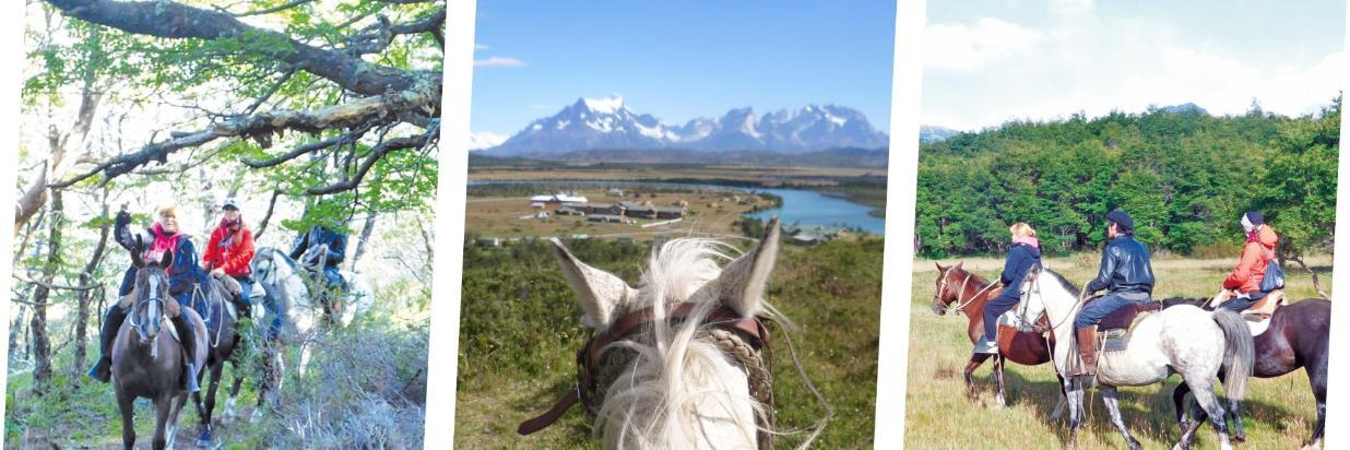 Cabalgatas en Torres del Paine
