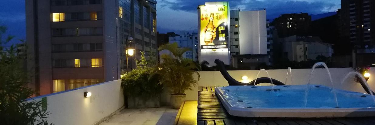 Vista Jacuzzi Club Spa - La Terraza del Aqua