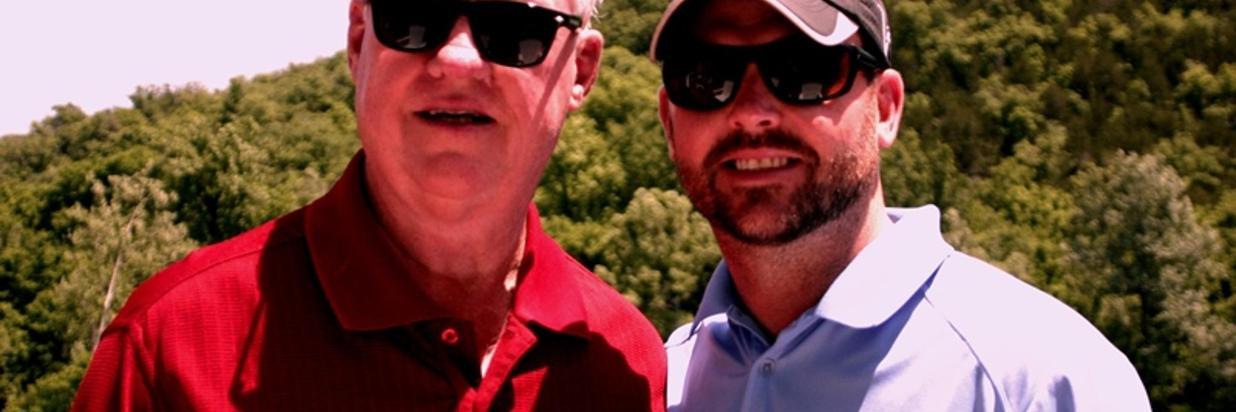 Richard and Jordan @ River Ridge Inn 2014.JPG