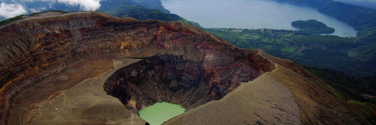 Volcano Ilamatepec