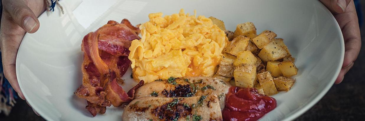 Comida sabrosa, en nuestro restaurante House en Las Casas B+B Boutique Hotel, Spa & Restauranteen Cuernavaca.