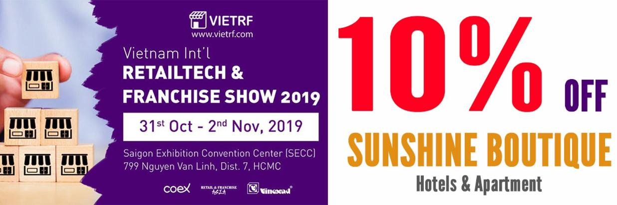 Hotel for VIETRF/COFFEE EXPO 2019