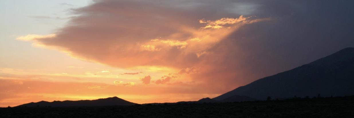 The beauty of a southwestern sunset.