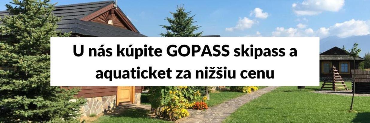 Ako získať GOPASS cez Tatralandia Chatky?